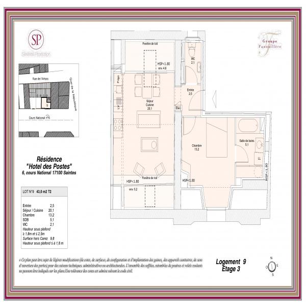 Offres de vente Appartement Saintes 17100